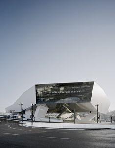 "helveticool: ""Porsche Museum by Delugan Meissl Associated Architects (Photos: Brigida Gonzalez) """