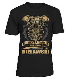 BIELAWSKI - I Nerver Said