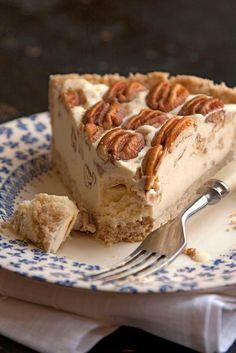 Pecan Pie Ice Cream Pie. Pecan pie ice cream, in a pie crust (1) From: Saveur, please visit