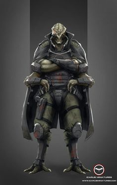 Jox Reqlemnin, a Taldoti warrior (native to Jordent), second in command to Captain Yovis for Operation Crisis.