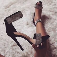 722995812b8e46 Crystal Heel Sandals Brand Design Sexy Bling Rhinestone High Heel Apricot  Black