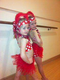 Delightful Freestyle Dance Costume (starter, Pairs)