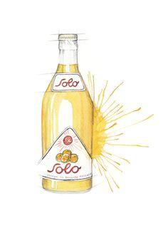 Norwegian soda bottle (Solo)