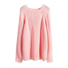 Plain Raglan Sleeve Square Neck Sweater ($22) ❤ liked on Polyvore featuring tops, sweaters, pink sweater, raglan top, pink top, square neck top and raglan sweater