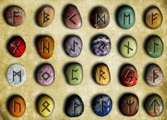 How To Use Rune Stones Runes Runes are what you call the ancient alphabet used by the Germanic countries that are used by Pagan. Ancient Runes, Ancient Alphabets, Celtic Runes, Magick, Witchcraft, Rune Viking, Viking Garb, Les Runes, Rune Symbols
