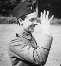 Georges Guynemer, 2nd highest WW1 flying ace in France. One of the cutest photos of a historical figure I've ever seen