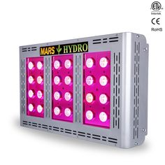 Mars Pro II Epistar 320 led grow light good for commercial grower project replace 1000 wattage HPS HID New tech SMD led made less heat longer life Indoor Farming, Indoor Gardening, Indoor Plants, Hydroponic Lights, Best Led Grow Lights, Light Panel, Helping Other People, Cup Design, Hydroponics