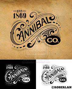 Résultats Google Recherche d'images correspondant à http://fc09.deviantart.net/fs71/i/2010/267/a/d/cannibal_co_vintage_logo_by_roberlan-d2zdu65.jpg