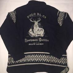 NWT Vintage Polo Ralph Lauren Sportsman Button UP Stadium Pwing Bear XXL #PoloRalphLauren #ButtonFront