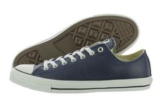0cb0689f4560 Converse Chuck Taylor All Star OX Leather 149729C Navy Shoes Medium (D