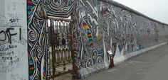 The remains of the Berlin Wall decorated with inspiring art, a beautiful tribute to the scarring history of Germany. Berlin Photography, Travel Photography, Cool Works, East Side Gallery, Historical Monuments, Berlin Wall, Berlin Germany, Berlin Today, Berlin Berlin