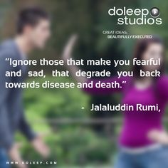 """Ignore those that make you fearful and sad, that degrade you back towards disease and death."" #business #entrepreneur #fortune #leadership #CEO #achievement #greatideas #quote #vision #foresight #success #quality #motivation #inspiration #inspirationalquotes #domore #dubai #abudhabi #uae  www.doleep.com/"