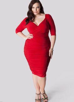 3e1098ac9f63 Sexy plus size red dresses - https   letsplus.eu mini-