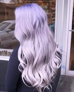 70 Tempting and Attractive Purple Hair Looks , Candy Purple Lavender Hair Color ❤️ When you think about purple hair, you might love the look but hesitate if it fits your features. Light Purple Hair, Purple Streaks, Hair Color Purple, New Hair Colors, Cool Hair Color, Purple Ombre, Ombré Hair, Dye My Hair, Mom Hair