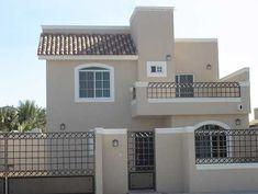 Colores para fachadas modernas Classic House Design, House Front Design, Dream Home Design, House Paint Exterior, Exterior House Colors, Exterior Design, House Construction Plan, Mexico House, Model House Plan