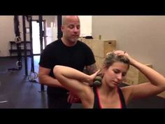 Self Massage or Myofascial Release for the Neck | Littleniggle