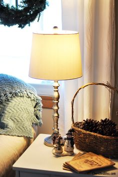 Love having lamps right next to my favorite spot on the couch! Great for reading with kids! #ad