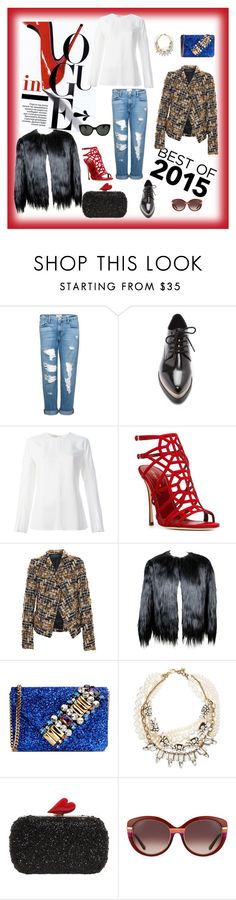 """Best of 2015!"" by crissyma ❤ liked on Polyvore featuring Frame Denim, Forever 21, STELLA McCARTNEY, Sergio Rossi, Haider Ackermann, GEDEBE, Lulu Frost, Diane Von Furstenberg, Salvatore Ferragamo and Oliver Peoples"