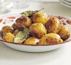 This sumptuous side dish uses small new potatoes cooked until buttery-soft inside with crispy skins on the outside