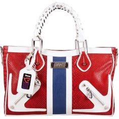 Sales NFL New York Giants Suite Team by Nikki Chu Moto Satchel Handbag new - Littlearth takes team fashion to a new level of style and sophistication with the Suite Team Collection developed with acclaimed designer...