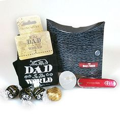 Moreton Gifts The Best Dad In The World Man Pouch By Ideal Birthday Golfer Fathers Day Gift *** Details on this gift product can be viewed by clicking the image