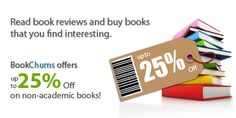 Avail great discounts only on BookChums!