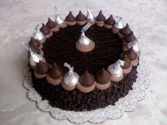 Hershey Kiss Cake