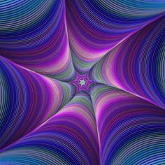 Colorful fractal digital art background design