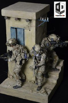 Proportion War PW001  Afghanistan Diorama #modeltrains Military Diorama, Military Art, Indian Army Special Forces, Sculptures, Lion Sculpture, Military Action Figures, Arte Dc Comics, Scale Art, Lego War