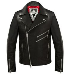 Redman Leather Jacket via Anvil Motociclette - Shop Online. Click on the image to see more!