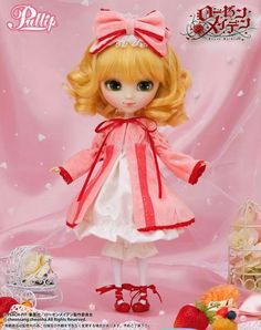 Pullip Rozen Maiden Hina Ichigo #rozenmaiden #doll #pullip #anime