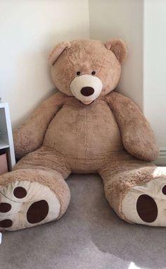 Cute Wallpaper Backgrounds, Wallpaper Iphone Cute, Cute Wallpapers, Large Teddy Bear, Giant Teddy Bear, Costco Bear, Bear Tumblr, Tedy Bear, Giant Stuffed Animals