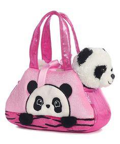 Love this Peekaboo Panda Plush Toy & Bag on #zulily! #zulilyfinds