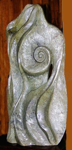THE SHELL SEEKER, Costa Rican stone, Nancy DeCamillis, Delaware