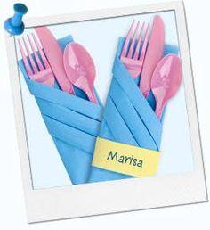 Resultado de imagem para ways to fold paper napkins