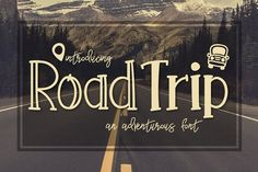 Road Trip a Adventurous Font - Fonts