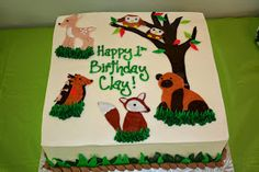 A Journal for Clay: Clay's Woodland Themed 1st Birthday Party!
