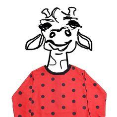 Una giraffa a pois!pic M.Minto disponibile su www.mommut.com #department5 #pois #giraffe #girl #instakids #instamom #instamamme #shoppingonline #outletconceptstore #mommut #mommutblogshop #lefunkymamas #thew0moms #thewomoms #instalike #instagood #instablogger