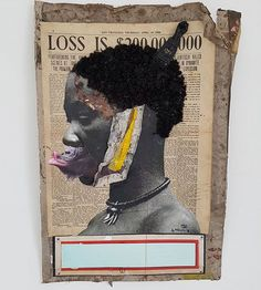 I am quite impressed with the works of Ayanda Mabulu, born in South-Africa in 1981. Allthough he find himself regularly in troubles with the Zuma government, he insists that his painting is not be read as a gesture of disrespect but to call attention to plight of the poor who bear the brunt of the decisions made of those in power. 'The president should listen to me and respect me as a poor citizen', Ayanda said. Photo/Words by @africanartstories