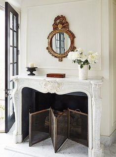 South Shore Decorating Blog: 25 More Winter White Rooms