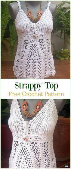 50 Quick Easy Crochet Summer Tops Free Patterns Free Crochet