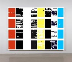 Structured Query Language III  2012 Acrylic on canvas 84 x 109 in/ 213.4 x 276.9 cm sylvan lionni