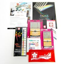 Enter to win The Perfect Pigma Micron Pen Bundle. The deadline is June 5, 2016.