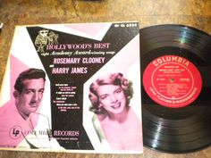 Hollywood's Best Rosemary Clooney and Harry James Columbia label CL 6224