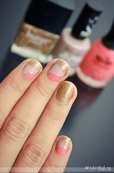 〔セルフネイル〕ペールピンクを使って、ちび爪・でか爪をきれいな桜の花びらにする * (2ページ目)|MERY [メリー]