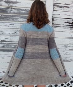 BlueSand by La Maison Rililie: FO by Maya-Elizabeth on ravelry. #knitting #pattern #knitindie