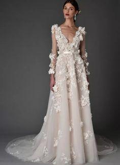 Новата сватбена колекция на Marchesa weding dress