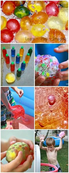 6 unique games and activities to play with water balloons
