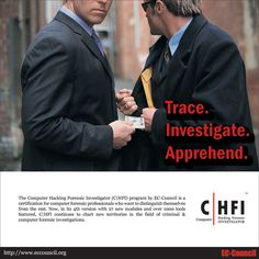 #CHFI Certification from #ECCouncil makes you world's best Cyber Forensic Investigator. Learn from us!