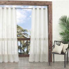 Summerland Key Single Curtain Panel